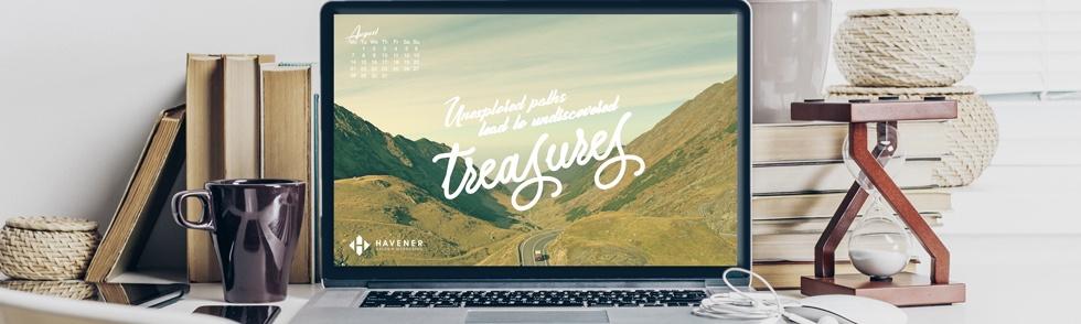 August 2017 Free Desktop Wallpaper from Havener Capital Partners