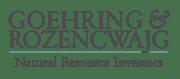 Goehring & Rozencwajg Logo